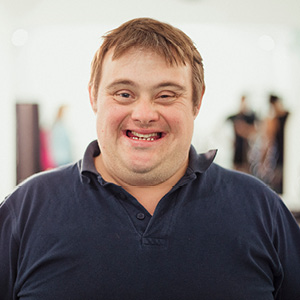 Down Syndrome male